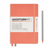 Записная книжка блокнот Leuchtturm Medium A5 Muted Colours в линию, оранжевый